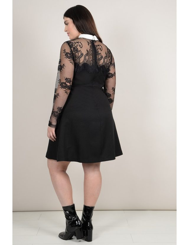 Robe noire taille 50