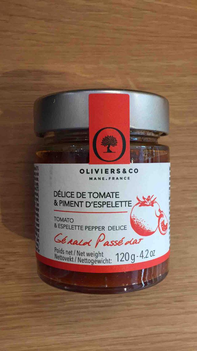 Délice de Tomate et Piment d'Espelette Oliviers&co