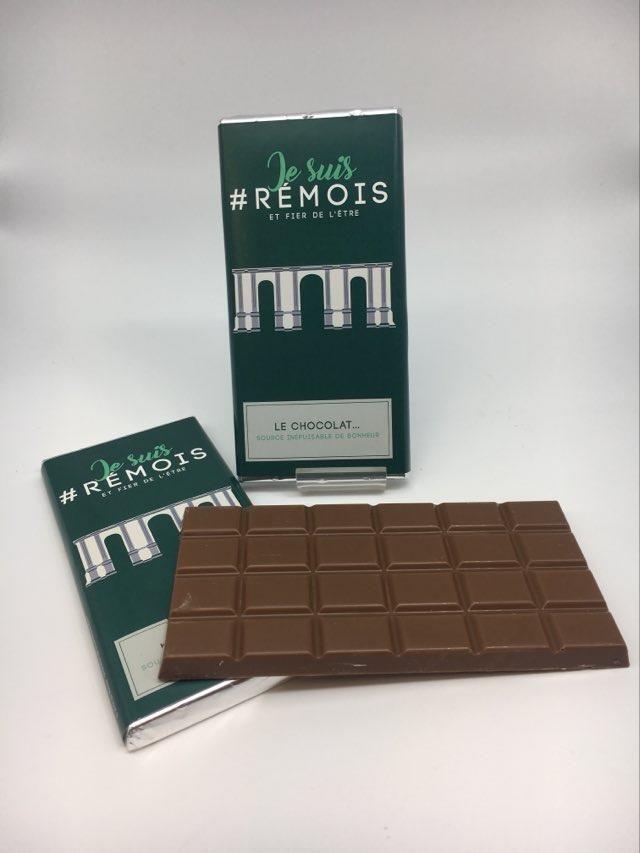 #je suis rémois PM chocolat caramel