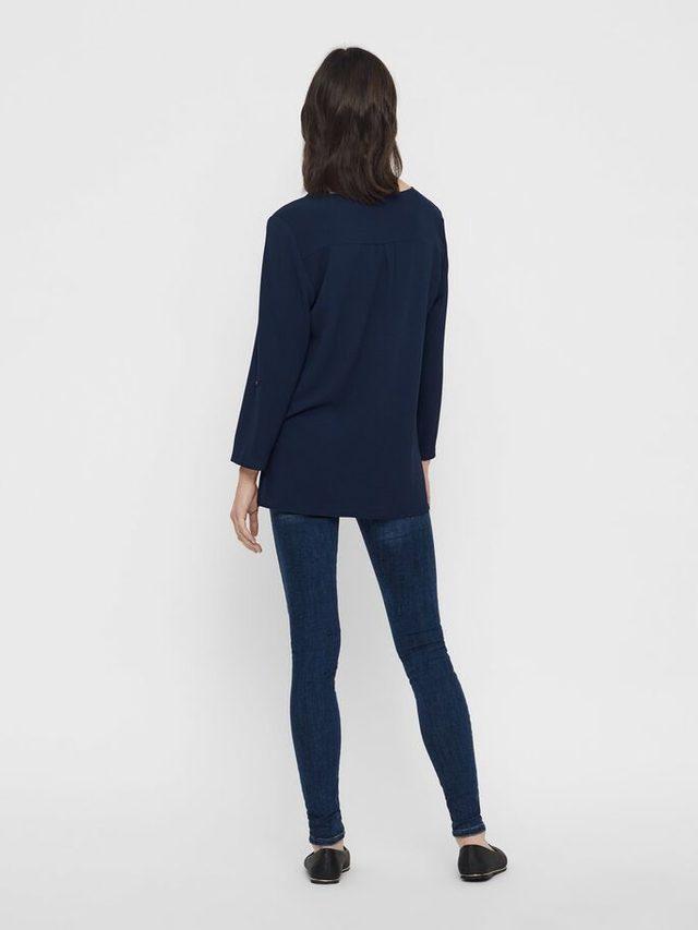 Blouse femme bleu marine taille xs