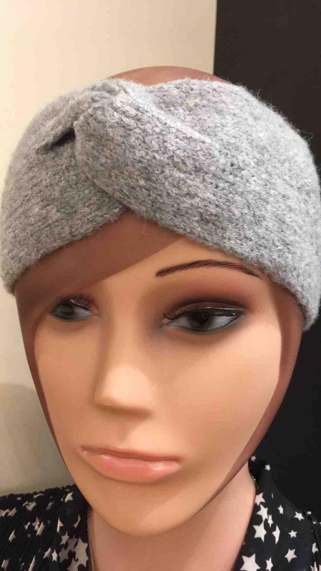 Headband gris clair