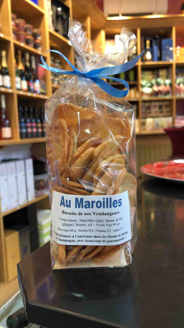 Biscuits salés au Maroilles