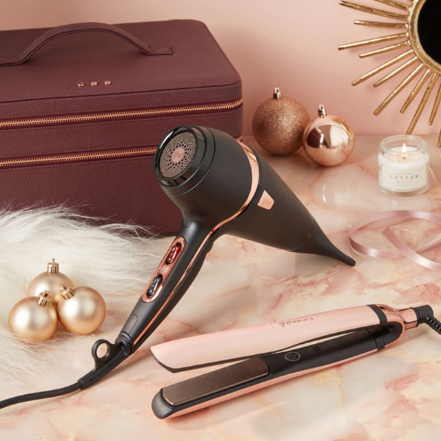 GHD COFFRET DELUXE Lisseur Styler Platinum + Royal Dynasty