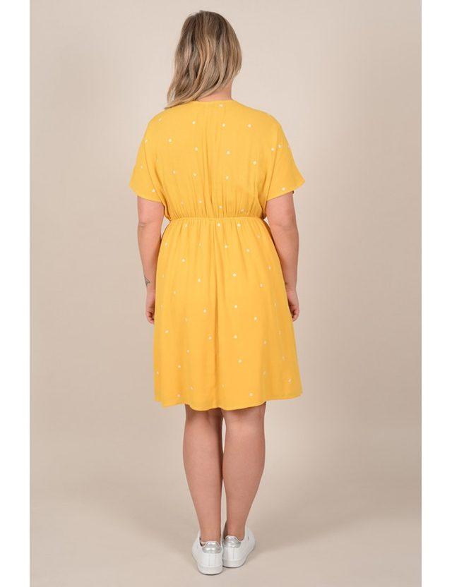 Robe jaune taille 52