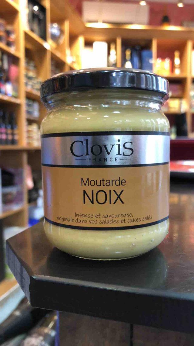 Moutarde Clovis aux Noix