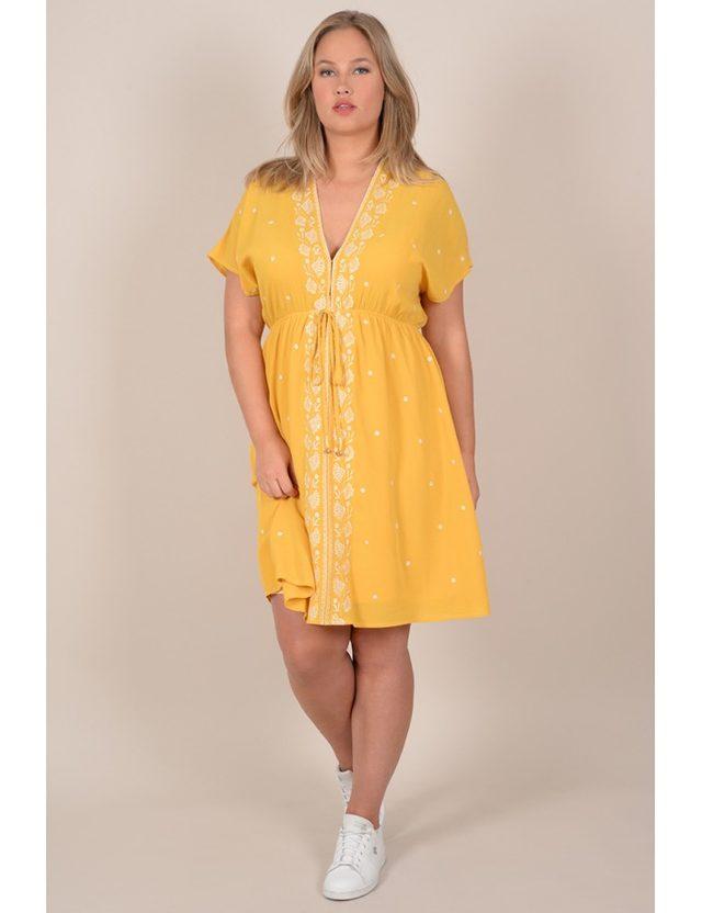 Robe jaune taille 44