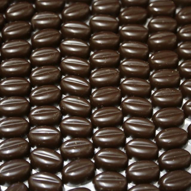 Boîte de 22 grains de café en chocolat