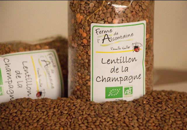 Lentillons Champenois Biologique - 1kg
