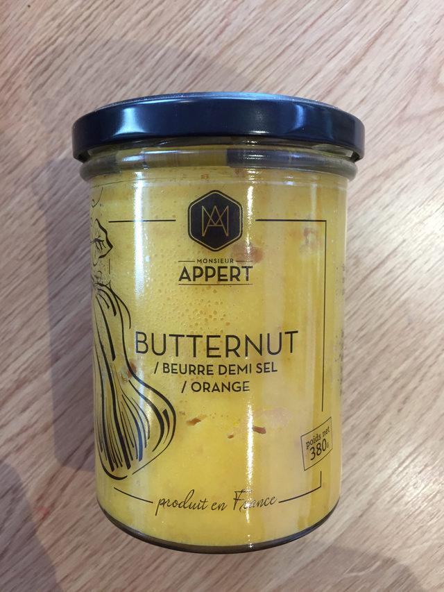Butternut / Beurre demi sel / orange Mr Appert