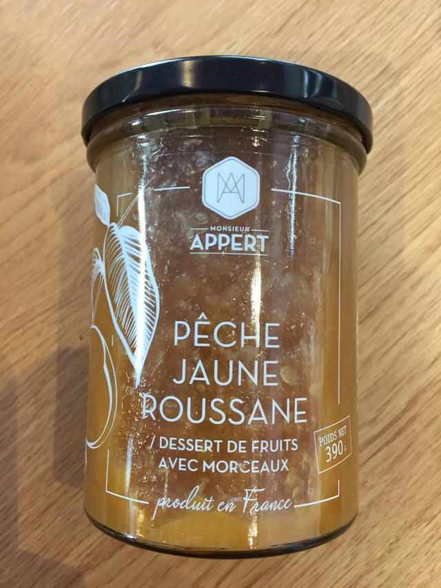 Pêche Jaune Roussane Mr Appert