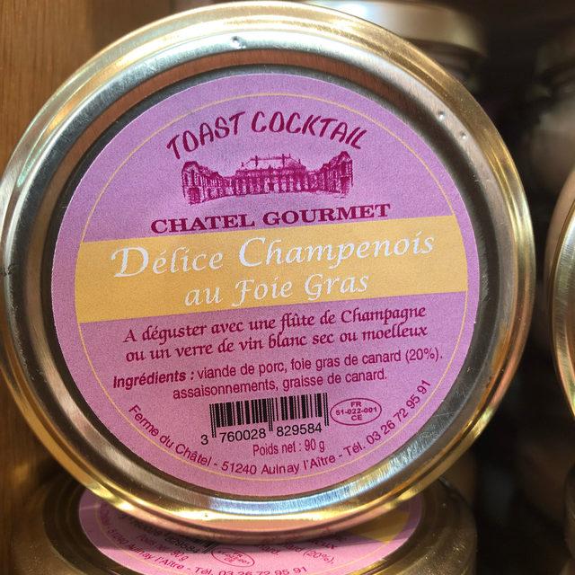 Délice Champenois au foie gras