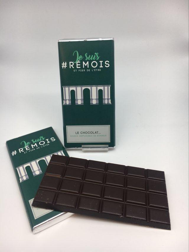 #je suis rémois PM chocolat noir
