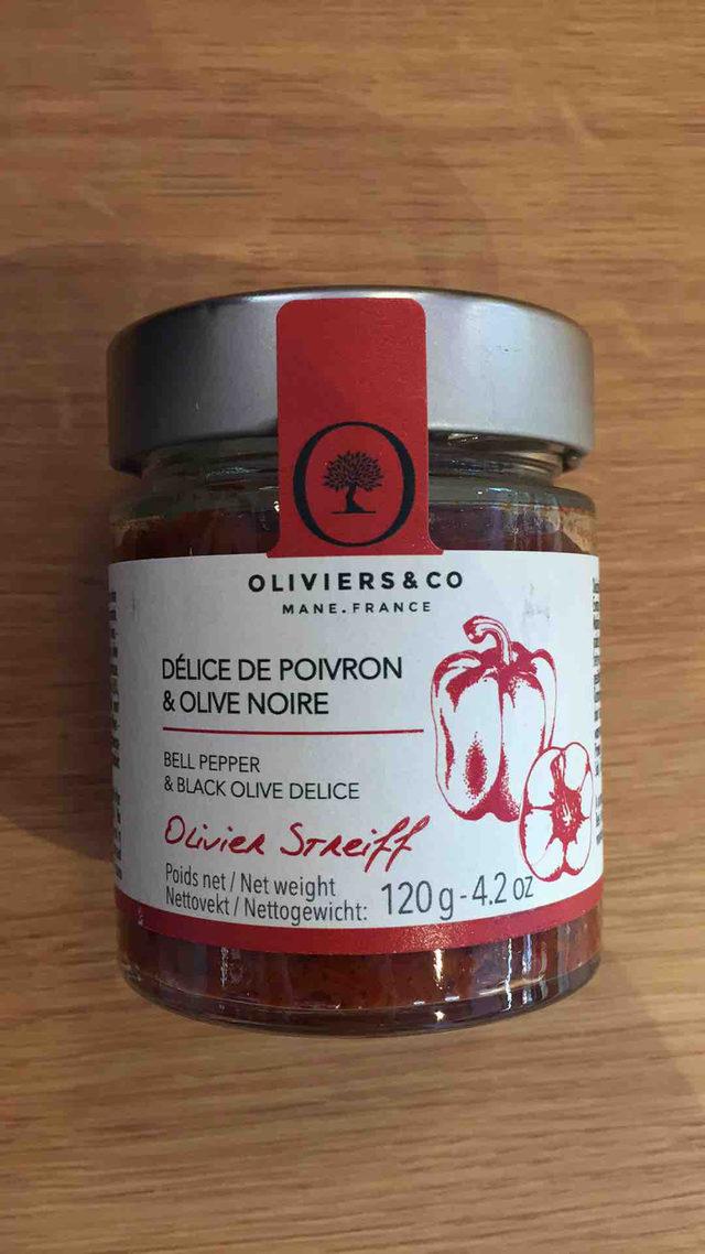 Délice de Poivron et Olive Noire Oliviers&co