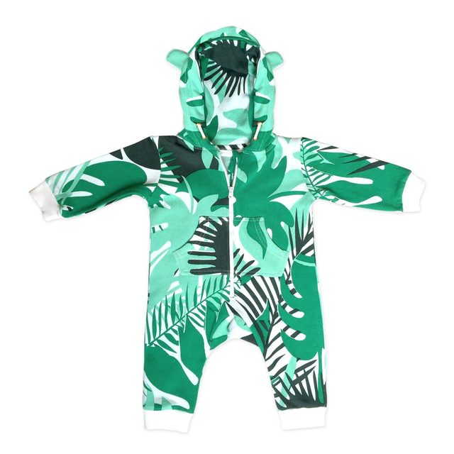 Combinaison / Jumpsuit Jungle t. 1 (6/12 mois)