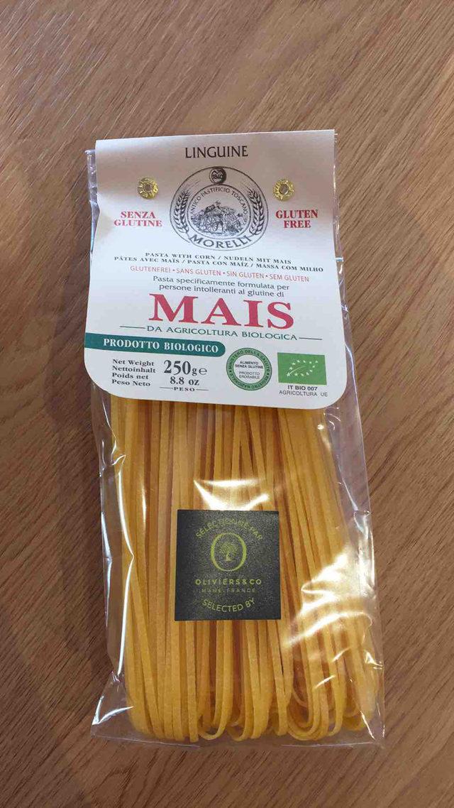 Linguine maïs bio sans gluten Oliviers&co