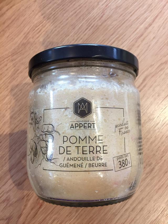 Pomme de Terre / Andouille de Guémené / Beurre Mr Appert