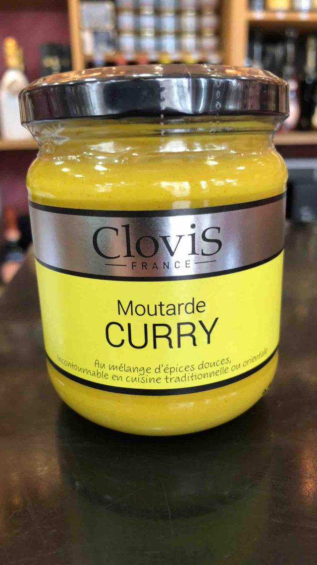 Moutarde Clovis au Curry
