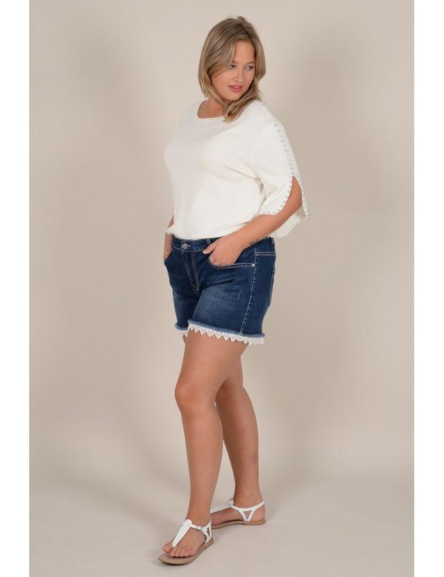 short en jean taille 44