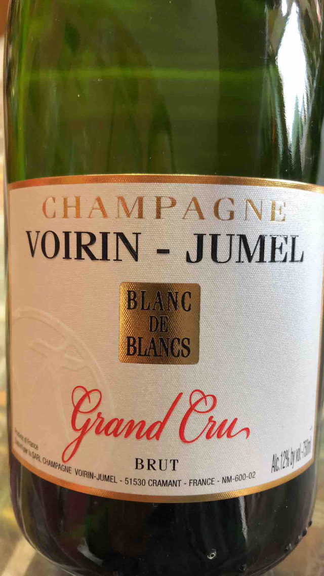Champagne Brut, Grand Cru, blanc de blancs