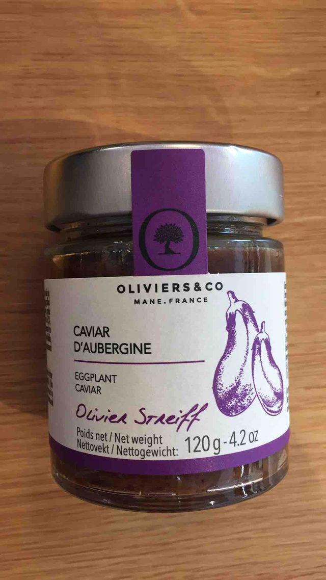 Caviar d'Aubergine Oliviers&co
