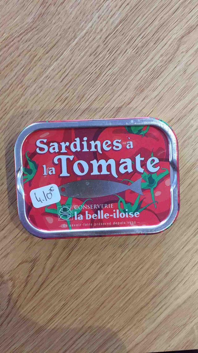 Sardines à la tomate La Belle Iloise