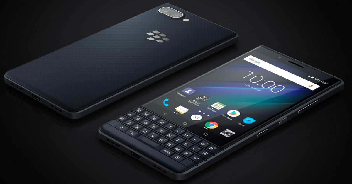 IFA 2018 | BlackBerry KEY2 LE: fysiek toetsenbord voor instapprijs