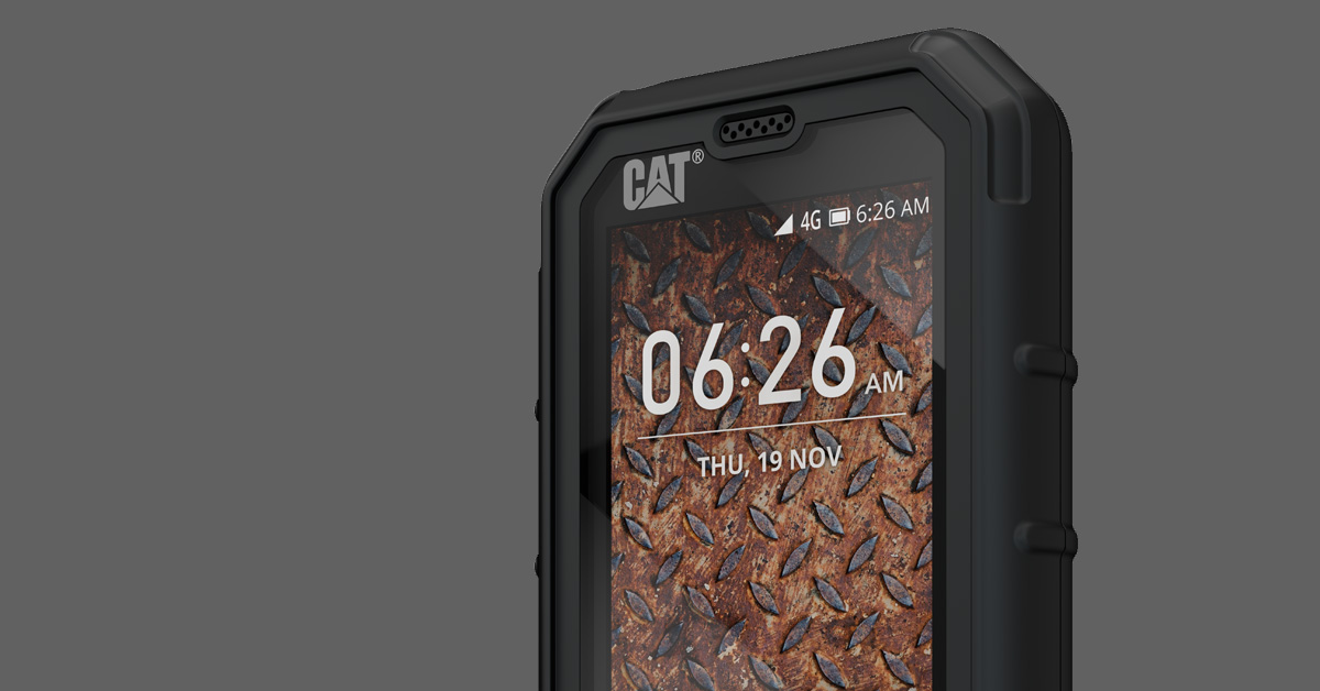 IFA 2018 | CAT B35: nieuwe robuuste feature-phone met slimme functies