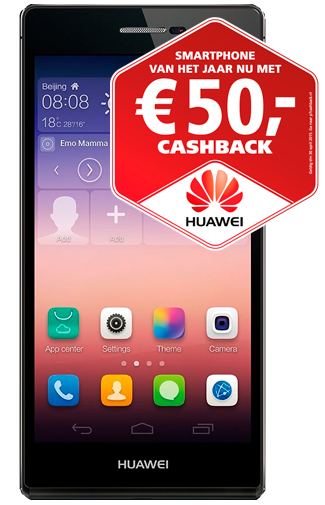 Huawei Ascend P7 Black Cashback