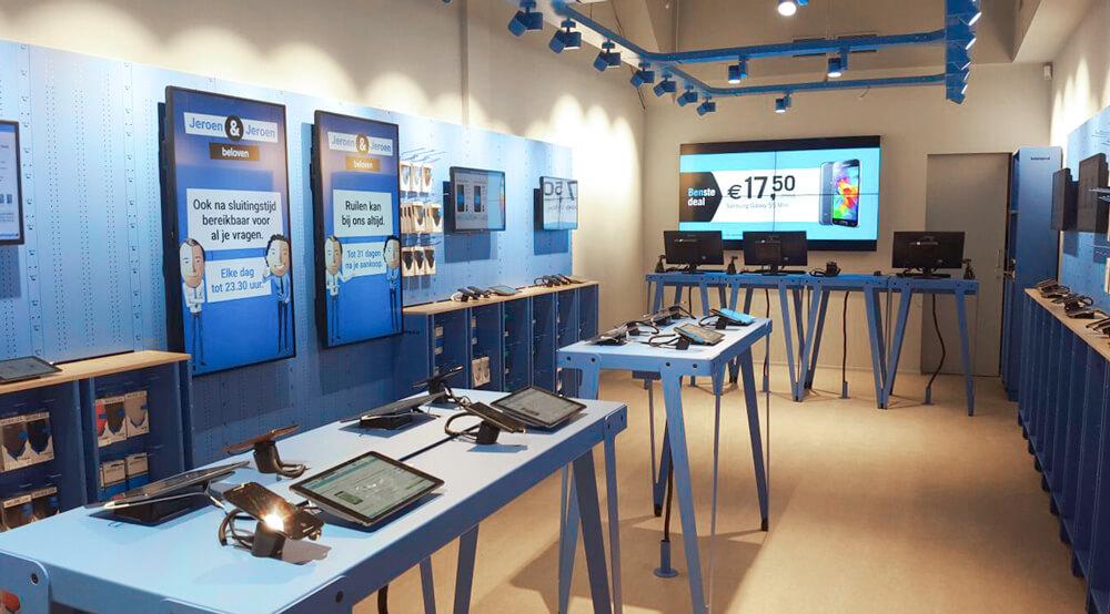Nieuwe winkel Belsimpel.nl Rotterdam