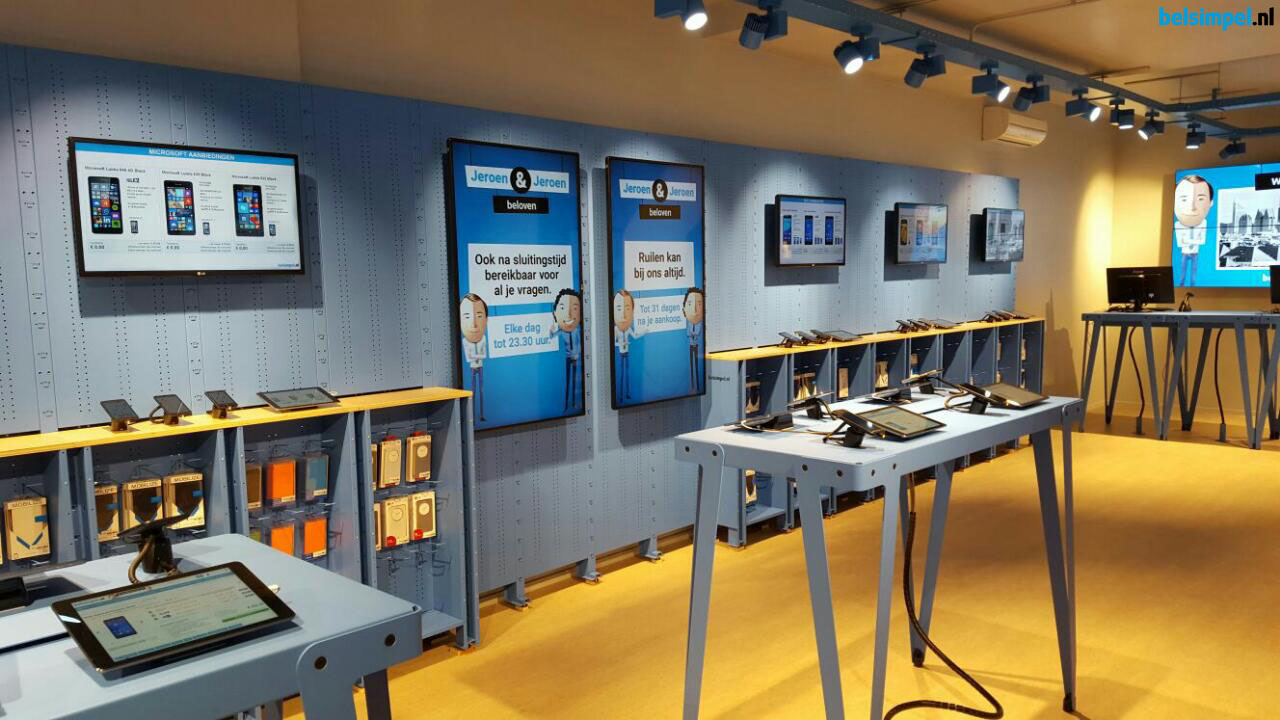 Nieuwe winkel Belsimpel.nl Den Haag