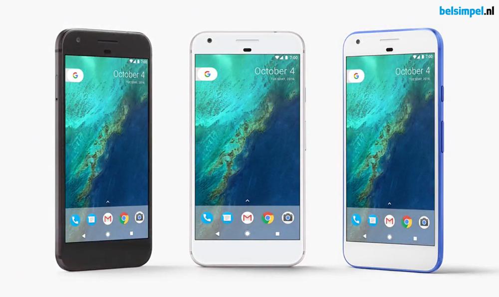 Google belooft twee jaar aan updates voor Pixel en Pixel XL