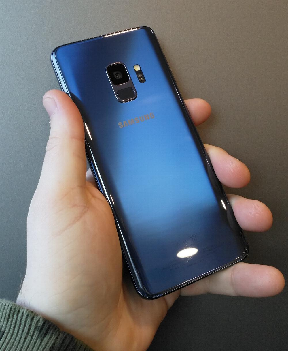 Samsung Galaxy S9 - blauw