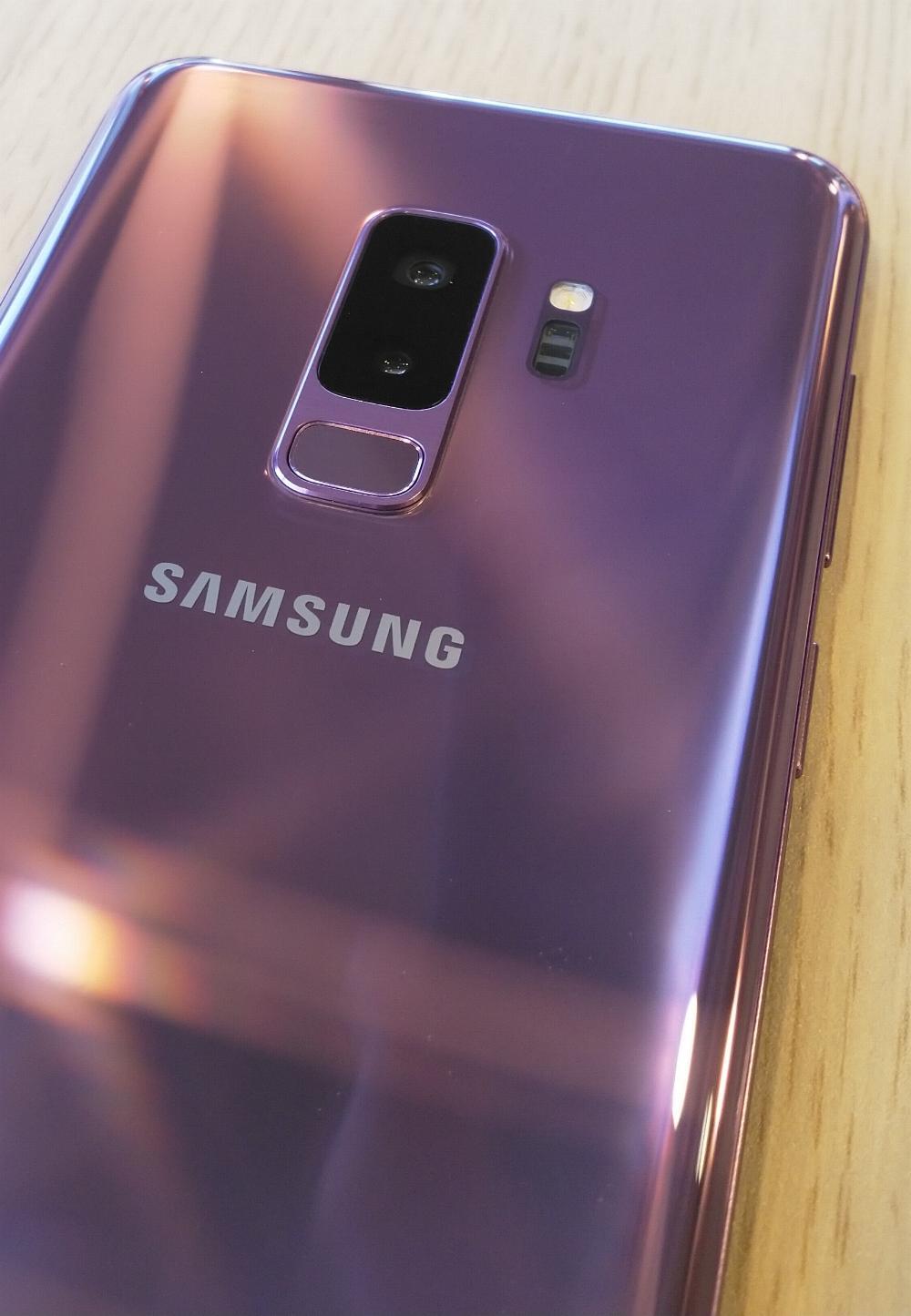 Samsung Galaxy S9+ - paars