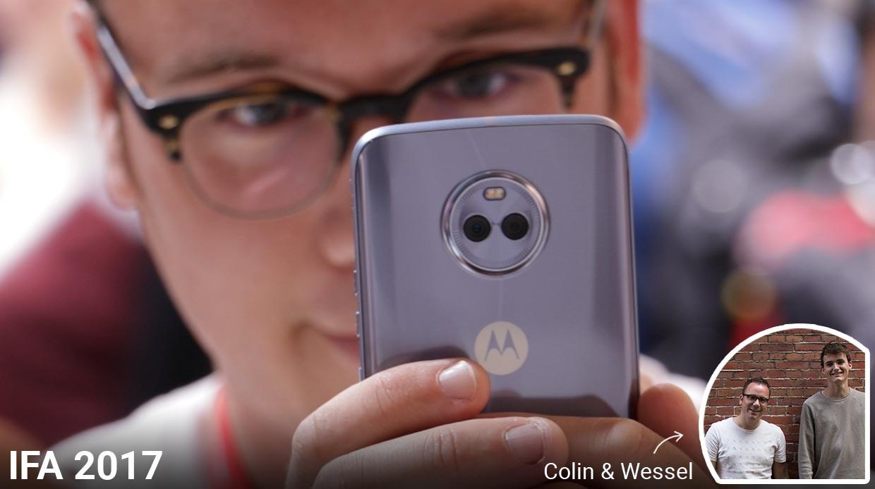 IFA 2017 - Hands-on Motorola X4: Shiny midranger met dubbele camera