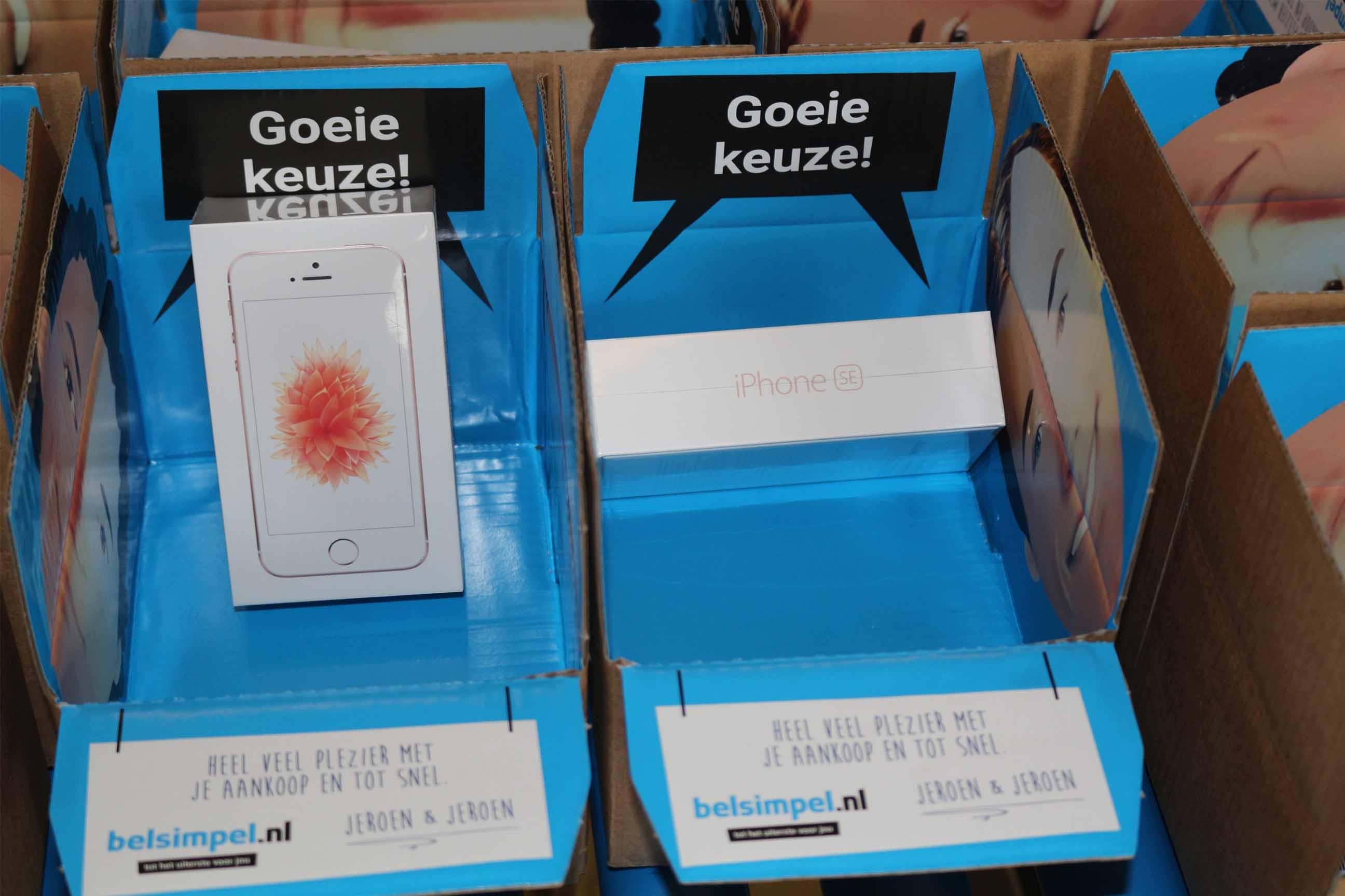 iPhone SE als eerste bij Belsimpel.nl!