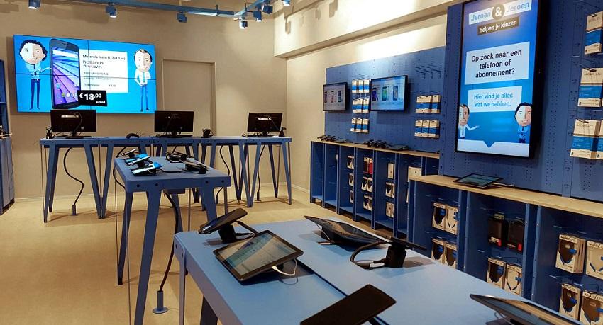 Belsimpel winkel Amsterdam