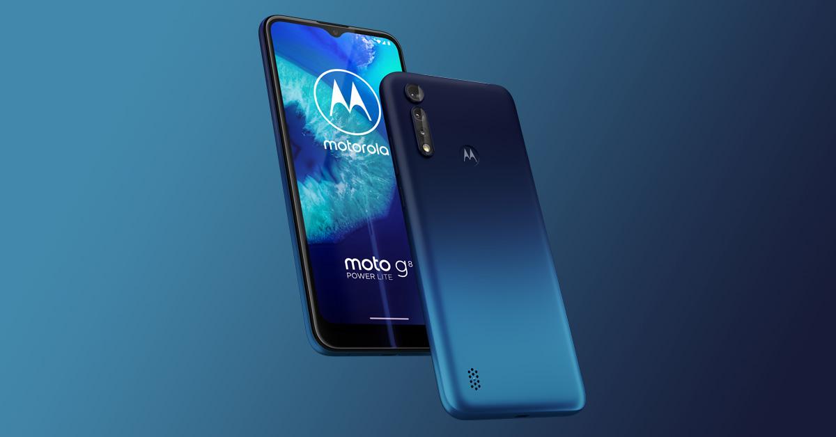 Motorola kondigt Motorola Moto G8 Power Lite aan