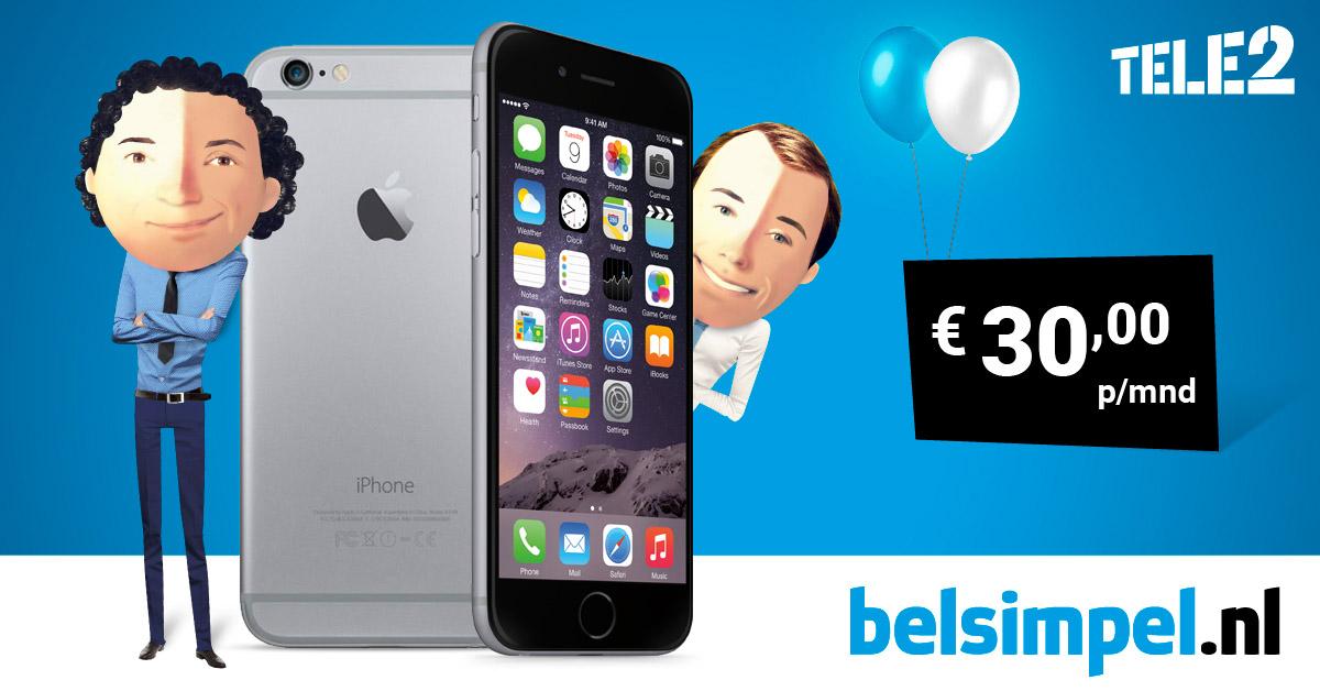 Laatste dag waanzinnige iPhone 6 actie Belsimpel Zwolle!