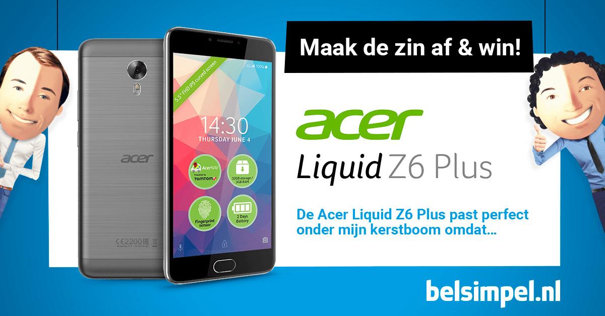 Acer Liquid Z6 Plus: overtuigende motor