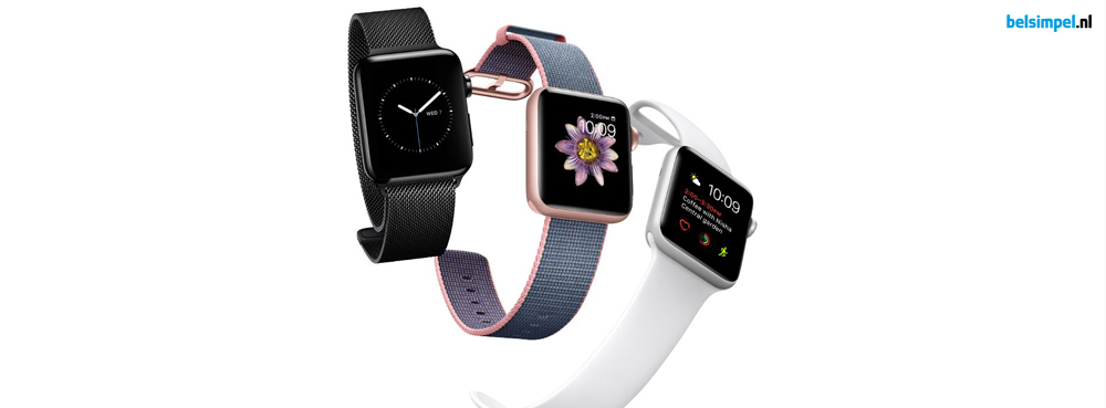 Apple kondigt tweede generatie Apple Watch aan