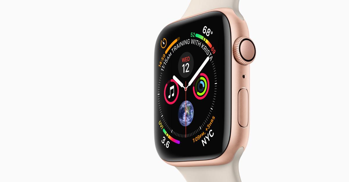 Ook nieuw: de Apple Watch Series 4