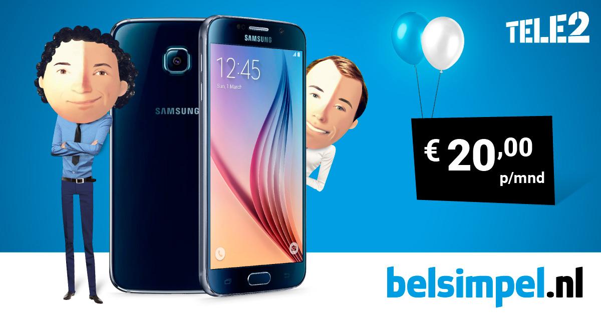 Waanzinnige Samsung Galaxy S6 actie Belsimpel Den Haag!