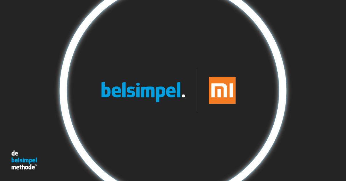 Xiaomi kiest Belsimpel als officiële partner