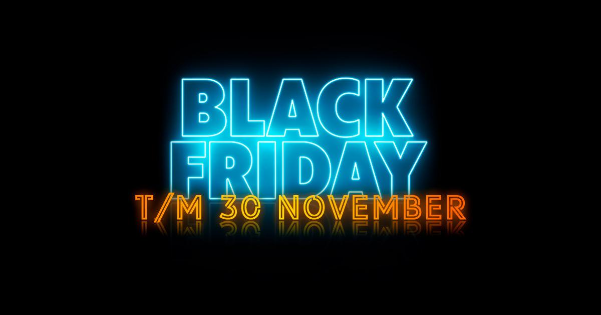Black Friday 2020 bij Belsimpel