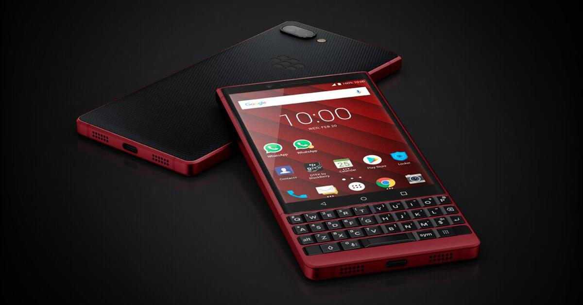 BlackBerry KEY2 Red Edition - exclusief bij Belsimpel