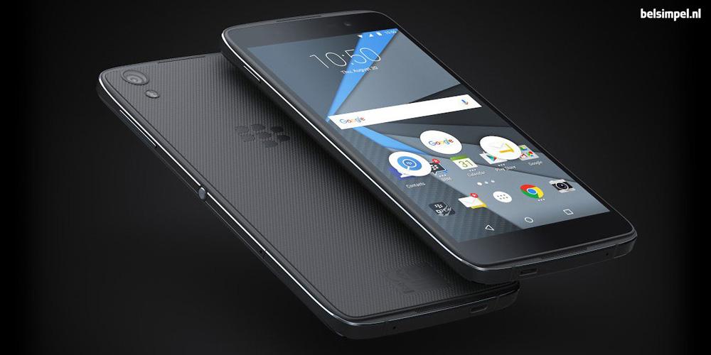 Powerbank cadeau bij de nieuwe BlackBerry DTEK50