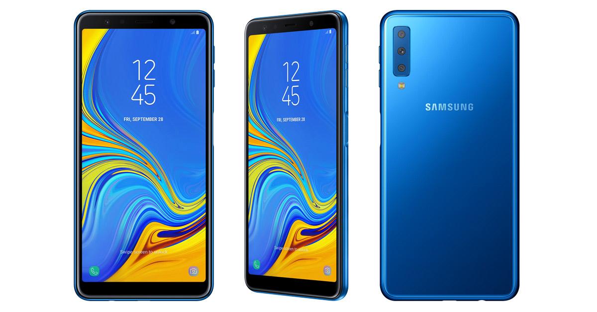Samsung Galaxy A7 (2018) beschikbaar voor pre-orders!