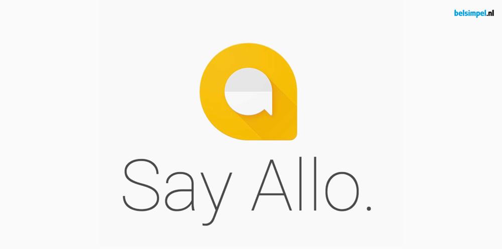 'Allo 'Allo: Google lanceert nieuwe app