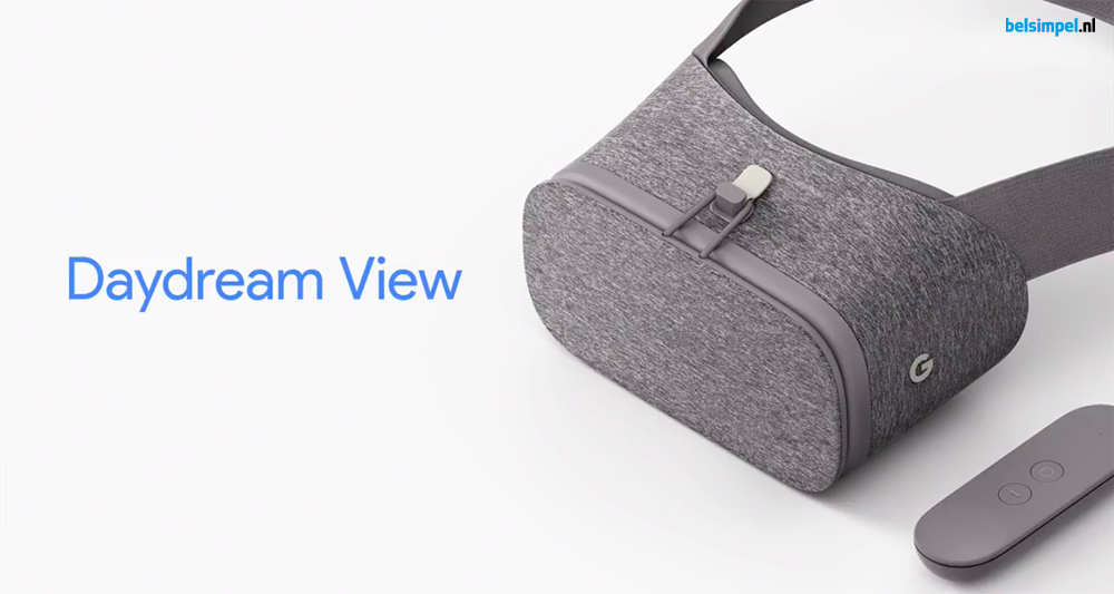 Daydream View voor Virtual Reality onthuld door Google