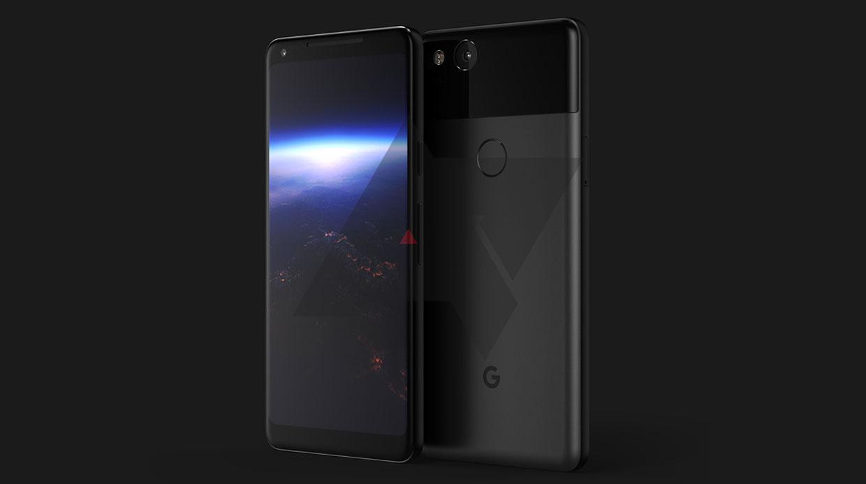 De eerste afbeelding van de Google Pixel 2?